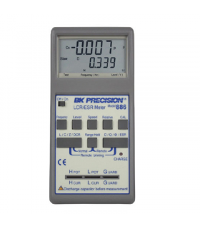 BK Precision 885 and 886 High Accuracy Handheld LCR/ESR Meters