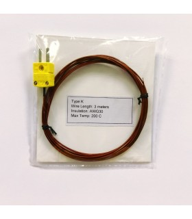 Type K Thermocouple Wire Probe (3 meters)