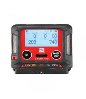 RKI GX-3R Pro Gas Detector with Bluetooth Wireless Communication