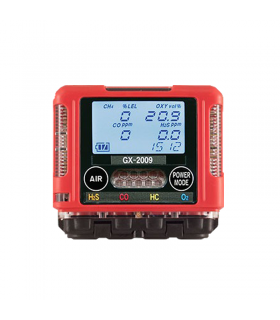 RKI GX-2009 Portable Multi Gas Detector