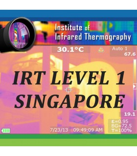 (Pre-book) IRT SINGAPORE – LEVEL 1 Online Thermography Course- May 2021