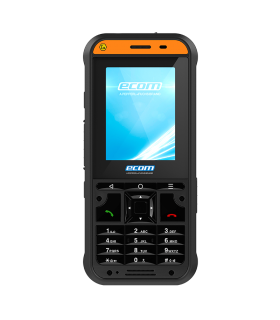 ECOM Ex-Handy 10 DZ2 Intrinsically safe feature phone