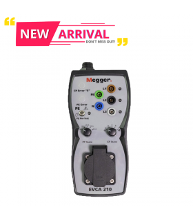 Megger EVCA210/EVCA210-UK Electric vehicle charge-point adaptor