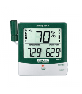 Extech 445815 Hygro-Thermometer Humidity Alert with Dew Point