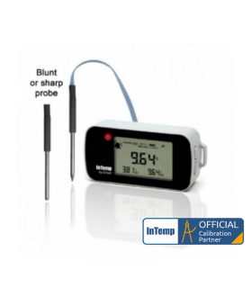 ONSET InTemp (CX402-xxM) Bluetooth Low Energy Temperature (with Probe) Data Logger