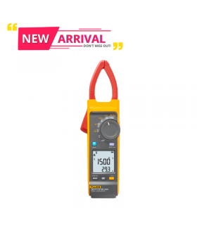Fluke 393 FC CAT III 1500 V True-rms Clamp Meter with iFlex