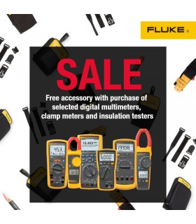 FREE Fluke accessories when you purchase selected Fluke Products