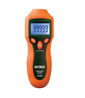 Extech 461920 Mini Laser Photo Tachometer Counter