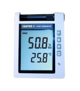 CENTER 31 Hygro Thermometer (With Alarm)