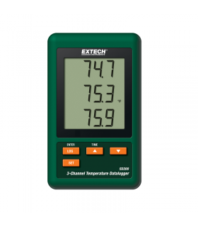Extech SD200 3-Channel Temperature Datalogger