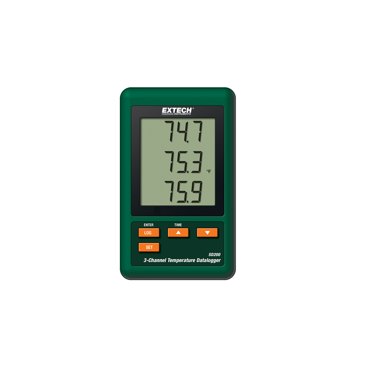 Extech SD200 3-Channel Temperature Data Logger